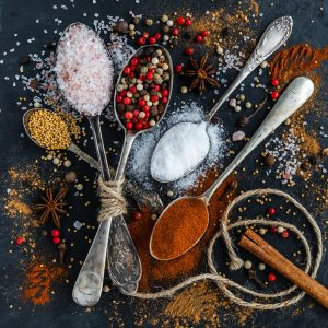 Sels, Poivres, Epices, Herbes et Aromates