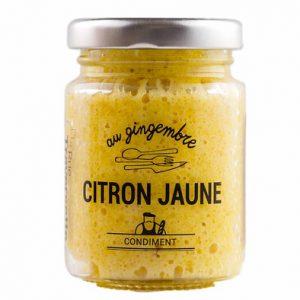 Pâte de Citron jaune au Gingembre 90g