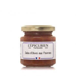 Salsa d'Olives aux Poivrons 100g