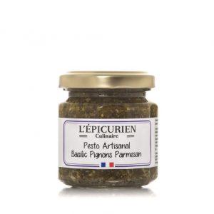 Pesto artisanal Basilic Pignons Parmesan 100g