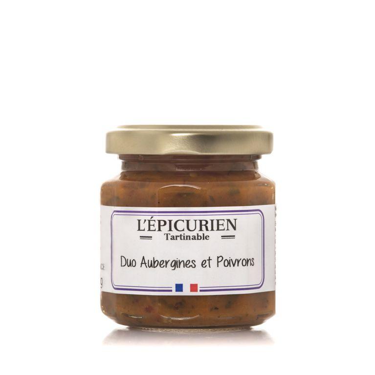 Aubergines et Poivrons 100g