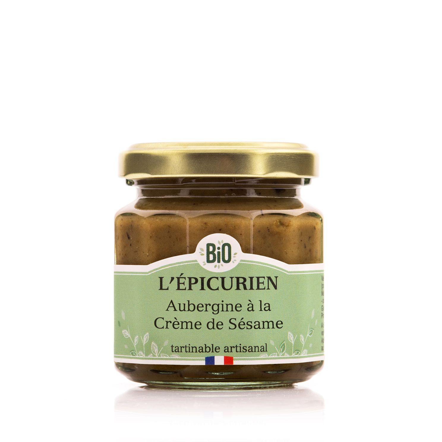 Aubergine à la Crème de Sésame BIO 100g