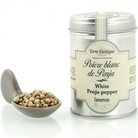 Poivre de Penja blanc