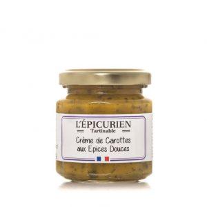 Crème de Carottes aux Epices douces 100g