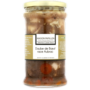 Daube de Bœuf d'Aubrac au Vin