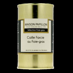 Caille Farcie au Foie Gras 190g