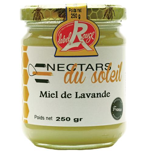 Miel de Lavande – IGP Miel de Provence – Label Rouge 250g