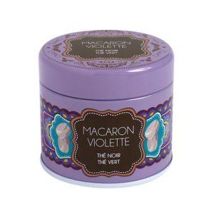 Boite Macaron Violette 20g