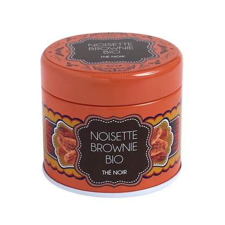 Boite Noisette Brownie BIO* 35g