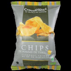 Chips de Pomme de Terre BIO 100g