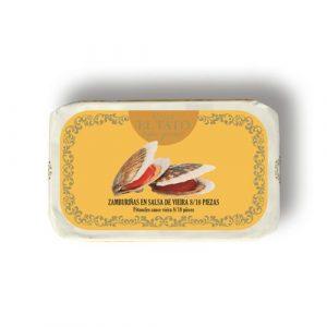 Pétoncles sauce Vieira 115g