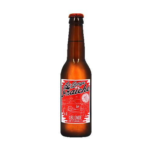 Bière La Gorge Fraîche Blonde