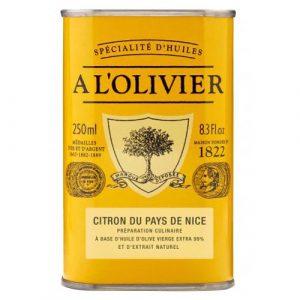Huile d'Olive Citron du Pays de Nice 25cl