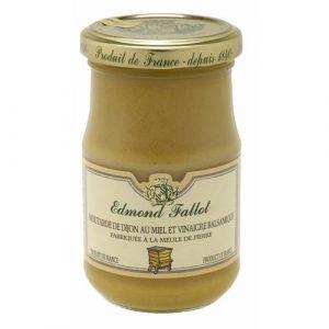 Moutarde au miel et au vinaigre balsamique 100g