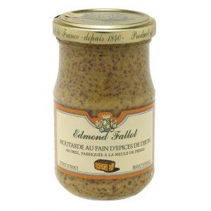 Moutarde au Pain d'épices de Dijon 100g