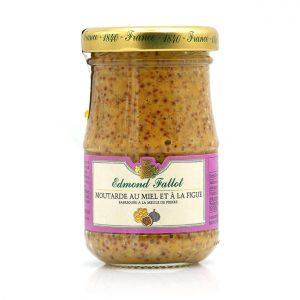 Moutarde au miel et à la figue 100g