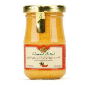 Moutarde au Piment d'Espelette 100g