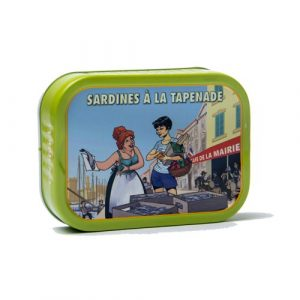 Sardines à la tapenade 115g