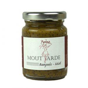 Moutarde Banyuls Miel 100g