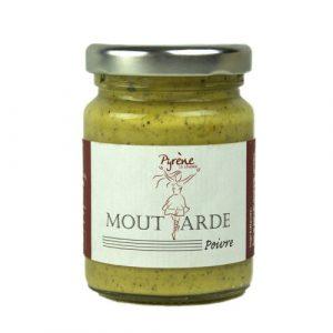 Moutarde aux 3 Poivres 100g