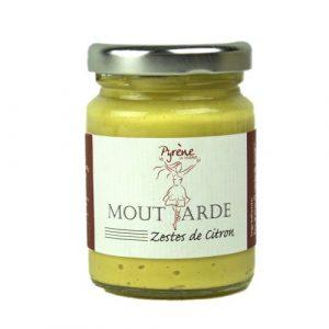 Moutarde aux Zestes de Citron 100g