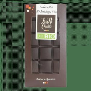Tablette Chocolat Noir 74% St Domingue BIO 100g