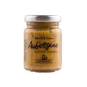 Caviar d'Aubergine au piment d'Espelette 90g