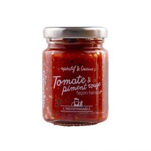 Tomate et piment rouge 90g