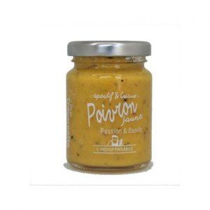 Poivron jaune Passion et Basilic 90g