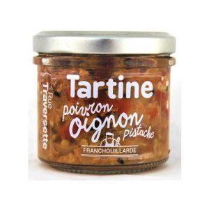 Tartine Oignon poivron pistache 110g