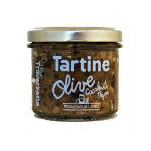 Tartine Olive cacahuète thym 110g