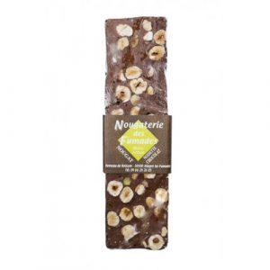 Barre Nougat Chocolat Noisette 100g
