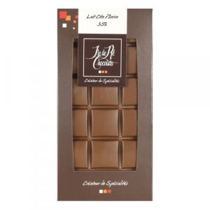Tablette Chocolat Lait 36% Côte d'Ivoire 100g