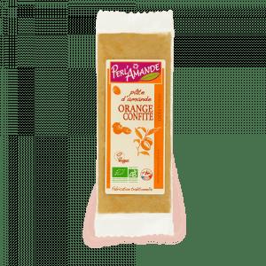 Pâte d'Amande Orange Confite BIO 200g