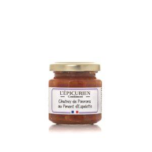 Chutney de Poivrons au Piment d'Espelette 110g