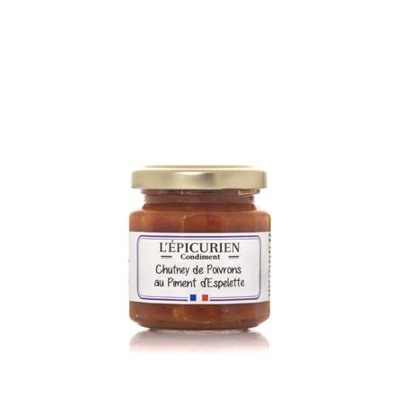 Chutney de poivrons au piment d'Espelette
