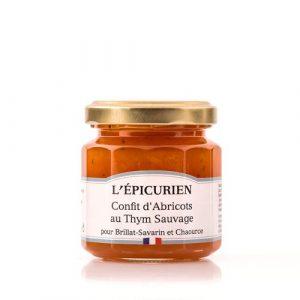 Confit d'Abricots au Thym Sauvage 125g