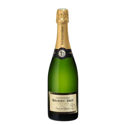 Champagne Cuvée de Réserve Brut Sourdet-Diot