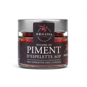 Poudre de piment d'Espelette AOP 40g