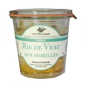 Ris de Veau aux Morilles 200g