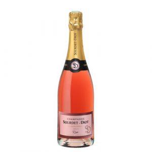 Champagne Rosé Brut 75cl – Sourdet-Diot
