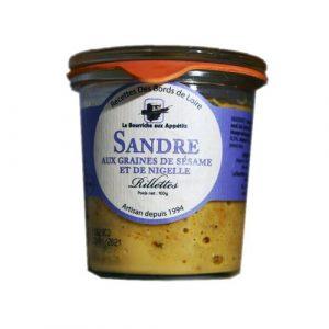 Rillettes de Sandre aux graines de Sésame 100g