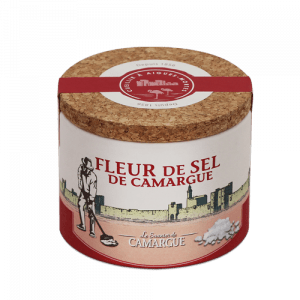 Fleur de Sel de Camargue Boîte Ronde 125g