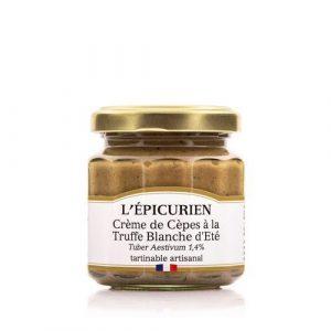 Crème de Cèpes à la Truffe Blanche d'Été 100g