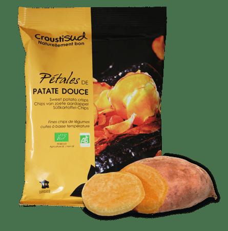 Pétales patate douce Bio