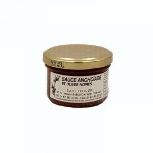 Sauce Anchoïade et Olives noires 90g