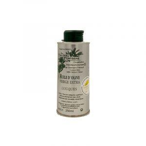 Huile d'Olive Lucques Bidon Métal 25cl