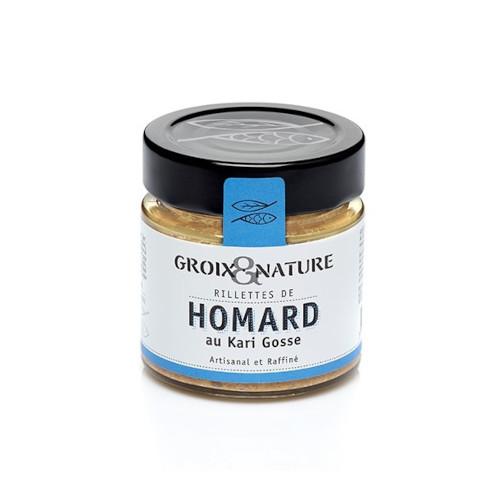 Rillettes de Homard au Karri Gosse Groix et Nature