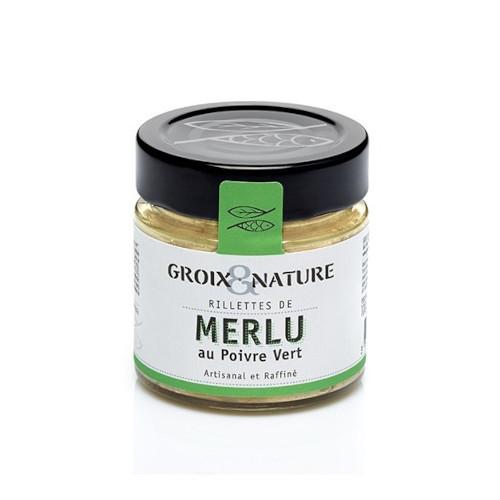Rillettes de Merlu au poivre vert Groix et Nature