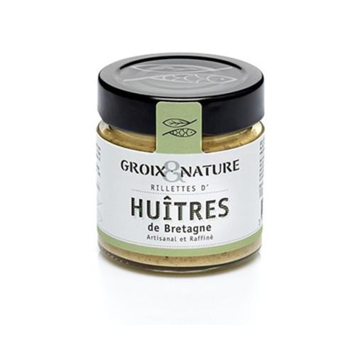 Rillettes d'huitres de Bretagne Groix et Nature